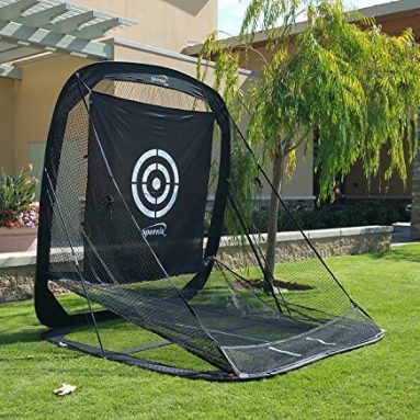 Spornia SPG-5 Golf Practice Net – Automatic Ball Return System W/Target Shee