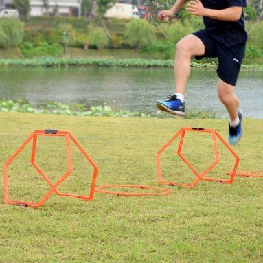 Sportneer Hexagonal Speed and Agility Training Aid Rings