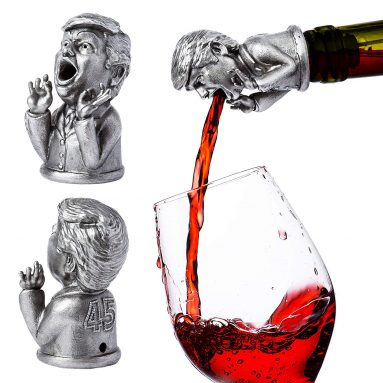 Stainless Steel Trump Wine Aerator & Liquor Pourer