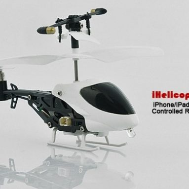 iPhone/iPad/iPod Touch Controlled RC Helicopter Gadget