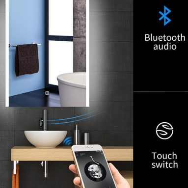 Backlist Led Lighted Mirror For Bathroom Antifogging Vanity Mirror Wall Mounted