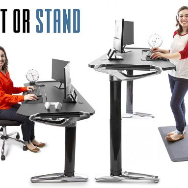 Stand Steady Tranzendesk Executive Standing Desk