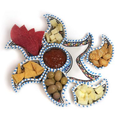 Star Dippers Plate Set