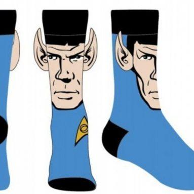 Star Trek Spock Crew Sock with Ears