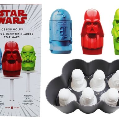 Star Wars 4Pc Ice Pop Molds