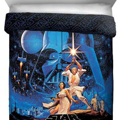 Star Wars Classic Poster FullQueen Reversible Comforter