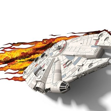 Star Wars Millennium Falcon 3D Deco Light