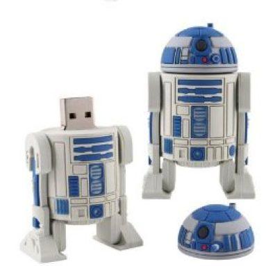 Star Wars R2D2 Robot USB Flash Pen Drive 32 GB