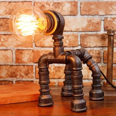 Steampunk Lamp with Dimmer