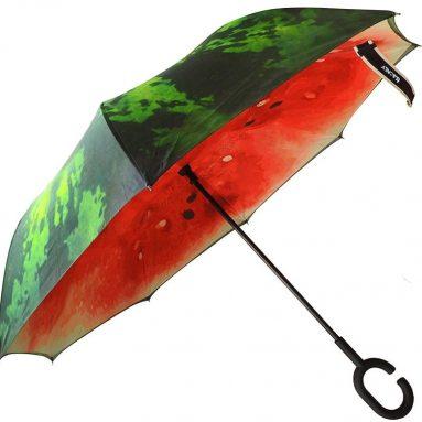 Windproof UV Protection Big Straight Umbrella