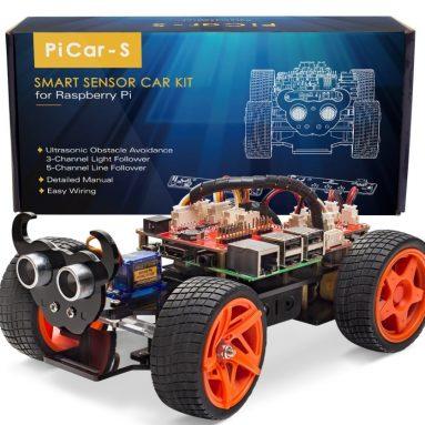 SunFounder Raspberry Pi Smart Robot Car Kit