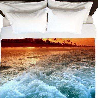 Sunset Beach – King Duvet Cover