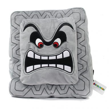 Super Mario Bros. Thwomp Plush Pillow