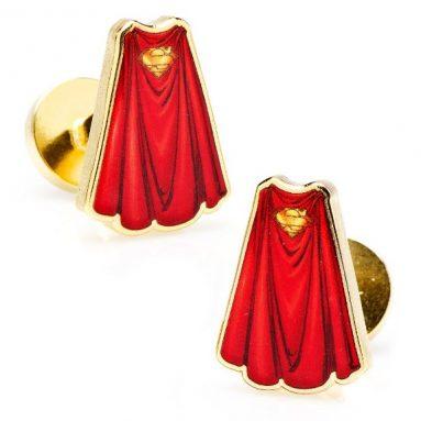 Superman Cape Cufflinks Cuff Links