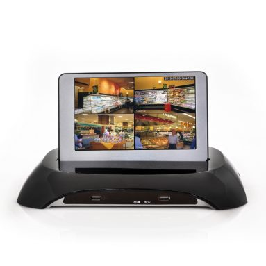 DVR Surveillance System With 7 Inch Detachable LCD