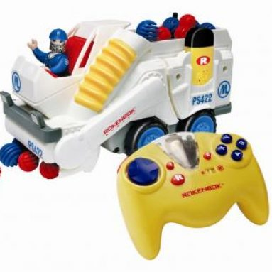 Rokenbok Power Sweeper Value Pack with ROK Star Controller