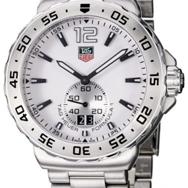 TAG Heuer Men's Formula 1 White Dial Stainless Steel Watch