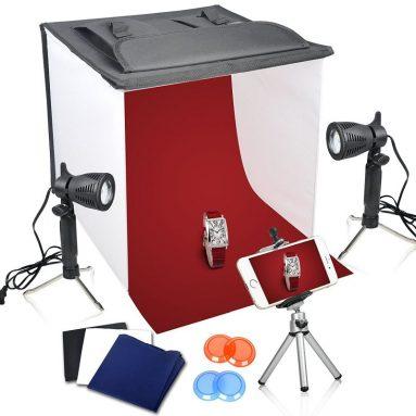 Table Top Photo Photography Studio Lighting Light Shooting Tent Box Kit
