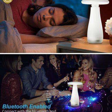 Table lamp bluetooth speaker