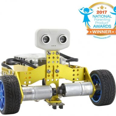 Tenergy ODEV Tomo STEM Robot 2-in-1 Transformable and Programmable APP Controlled Robot Vehicle Kit