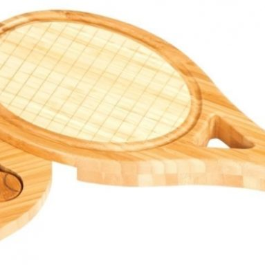 Tennis Racquet Shape Cheese Board