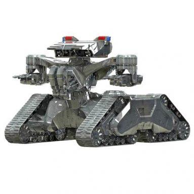 Terminator 2 Hunter Killer Tank 1:32 Scale Model Kit