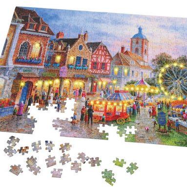 The 500 Piece Illuminated Jigsaw Puzzle