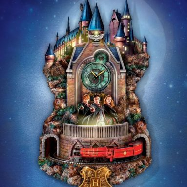 The Animated Harry Potter Clock