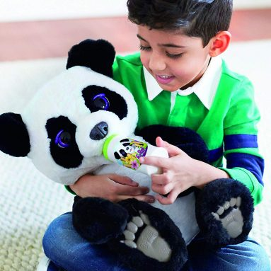 Cyber Monday: The Curious Panda Bear Cub Interactive Plush Toy