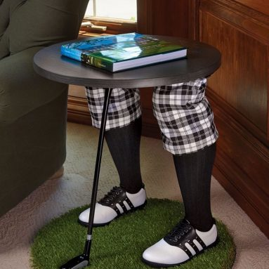 The Gentleman Golfer's Side Table