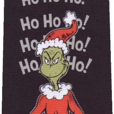 The Grinch Christmas Tie