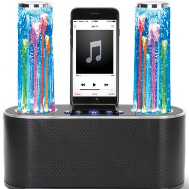 The Hypnotic Fountain Speaker Dock