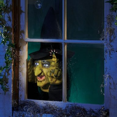 The Motion Activated Window Witch