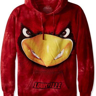 The Mountain Men's U of Louisville Bf Louie-Adult Hoodie Sweatshirt