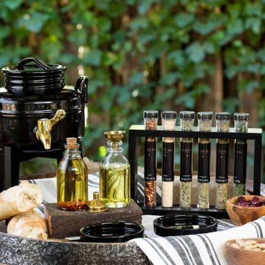 """""""The Olive Oil Shoppe"""" Olive Oil Fusti Dispenser Kit Gourmet"""