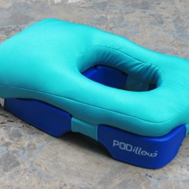 The Perfect Face-Down Tanning and Massage Pillow