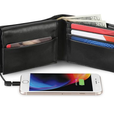 The Phone Charging Wallet