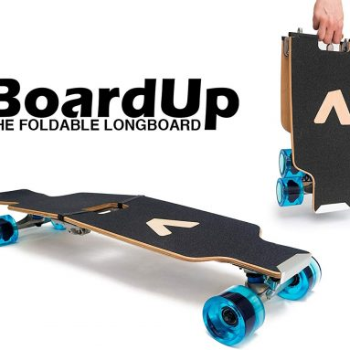 The Portable Mini Skateboard Longboard for Commute and Travel