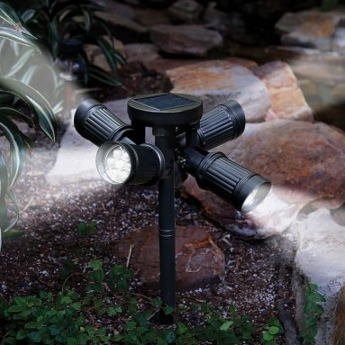 The Quad Directional Solar Light