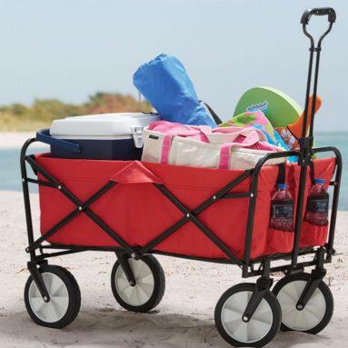The Sandless Foldable Beach Wagon