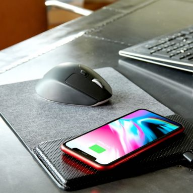 The Smartphone Charging Mouse Pad