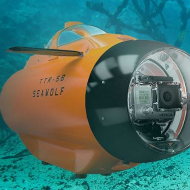 The Underwater Live Video Drone