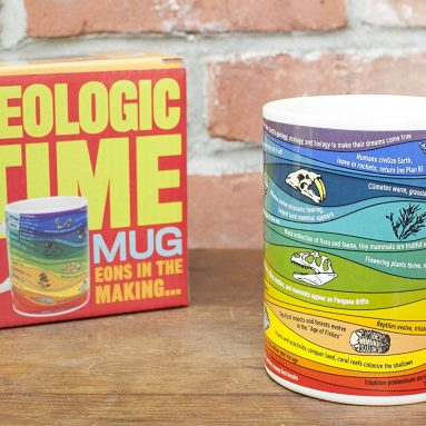 The Unemployed Philosophers Guild Geologic Time Mug