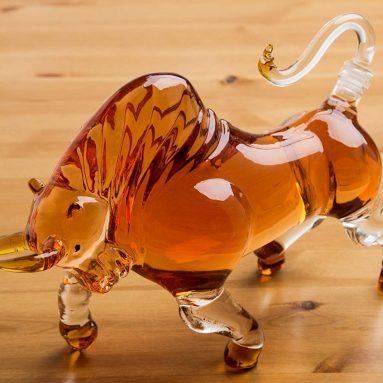 The Wine Savant Charging Bull Liquor