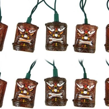 Tiki Style Patio String Light Set