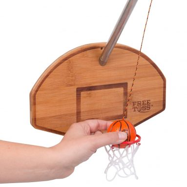Tiki Toss Basketball and Hoop Deluxe Swing Game Free Toss