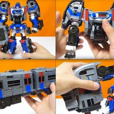 Tobot Athlon Metron transforming robot figure