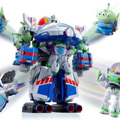 Toy Story x Tamashii Nations Chogokin Combination Die-Cast Action Figure