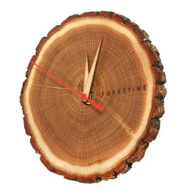 TreeHouse London Handmade 100% Natural 7″ Oak Wooden Wall Clock