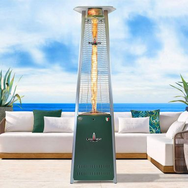 Triangle Glass Tube Outdoor Patio Heater